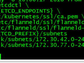 Kubernetes v1.9.7安装部署-Flannel网络