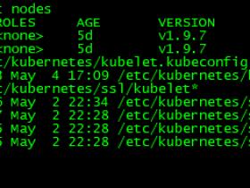 Kubernetes v1.9.7安装部署-配置Kubelet