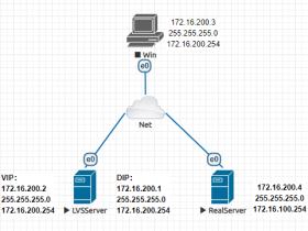 负载均衡-LVS单节点DR模式安装