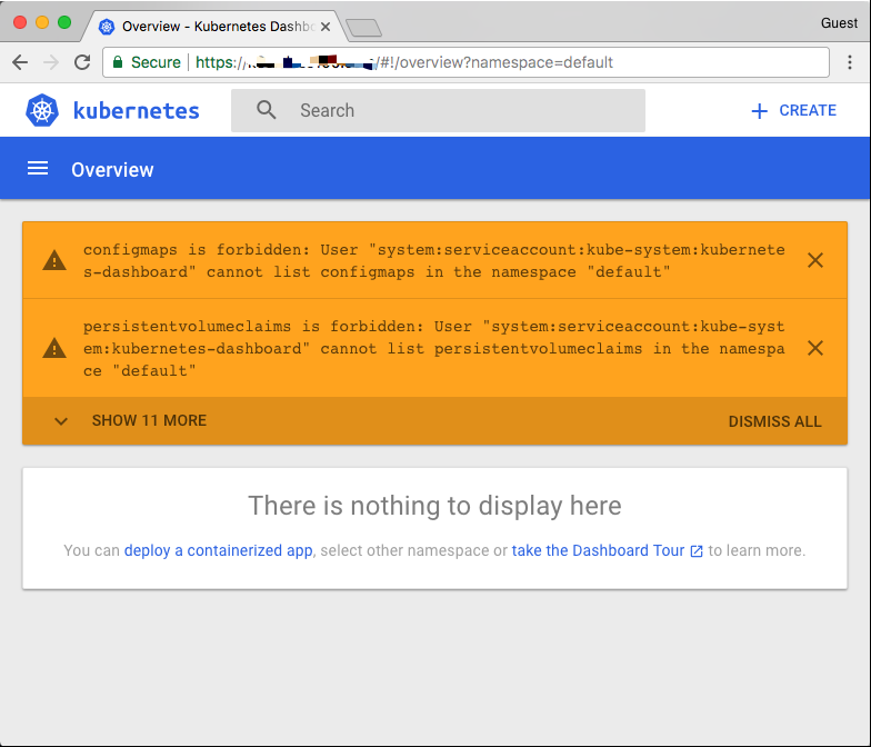 Kubernetes v1.9.7安装部署-Dashboard添加访问用户控制权限