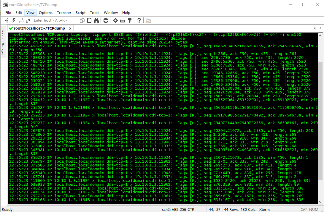 TCPdump使用教程