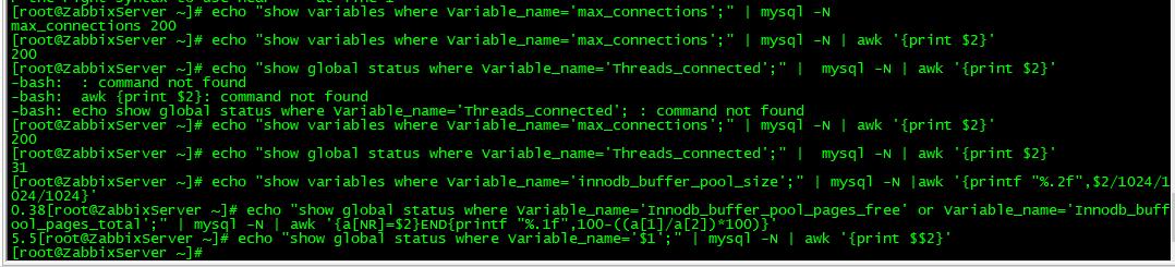 zabbix4.4监控案例之MySQL监控