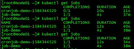 Kubernetes常用资源对象-Job/CronJob