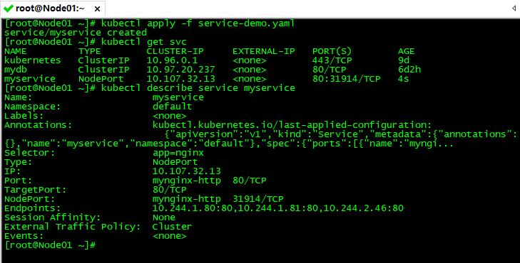 Kubernetes常用资源对象-Service
