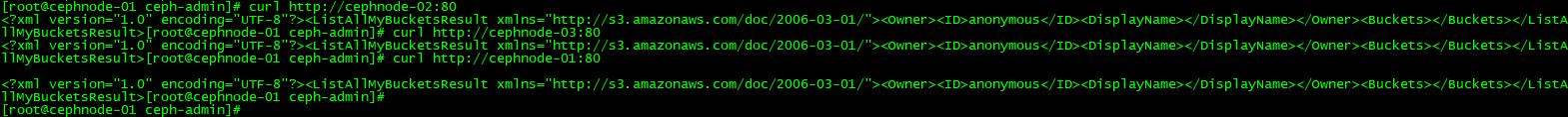 Ceph存储接口-Ceph RGW对象存储
